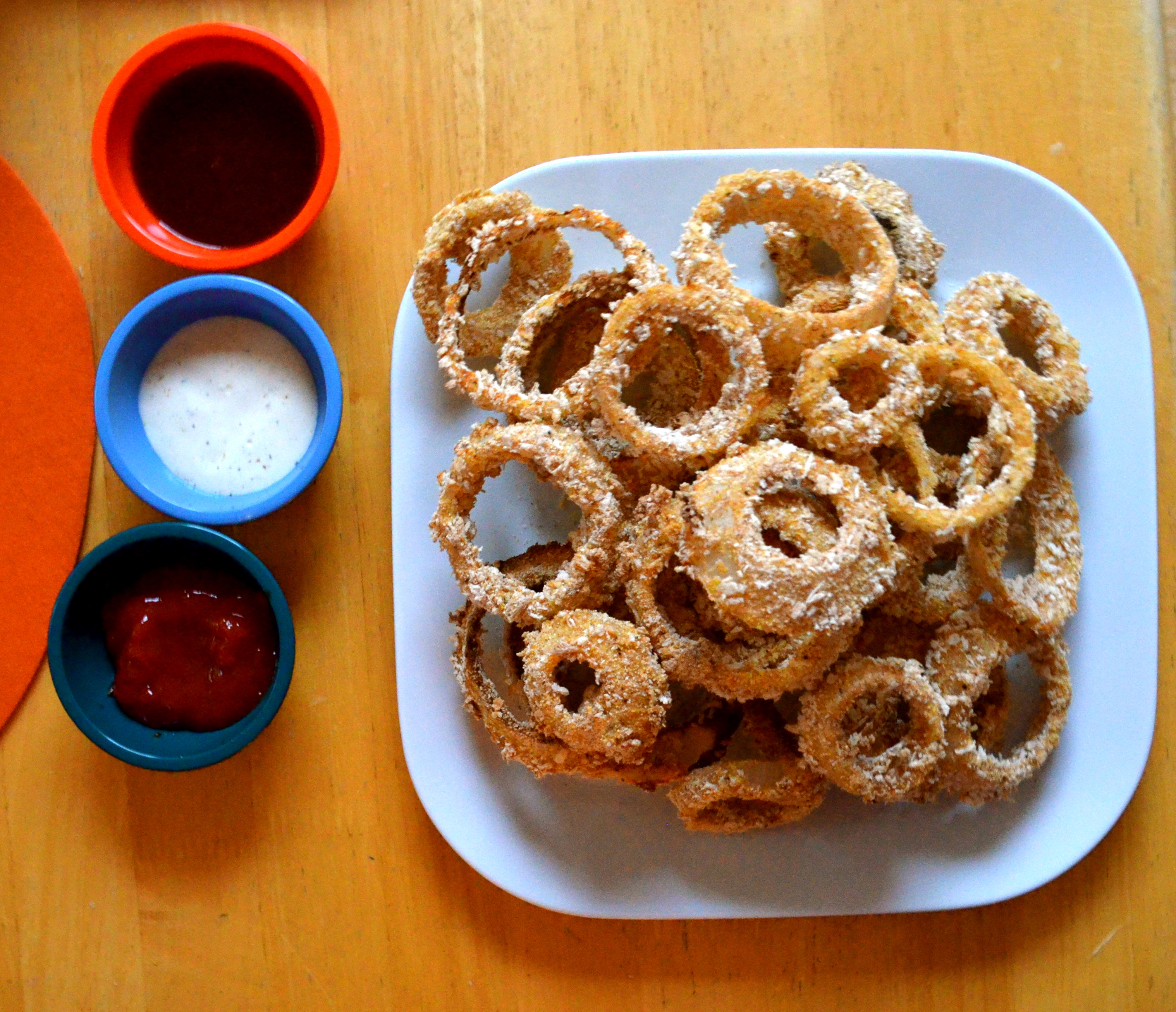 Baked Onion Rings | Mikey's In My Kitchen
