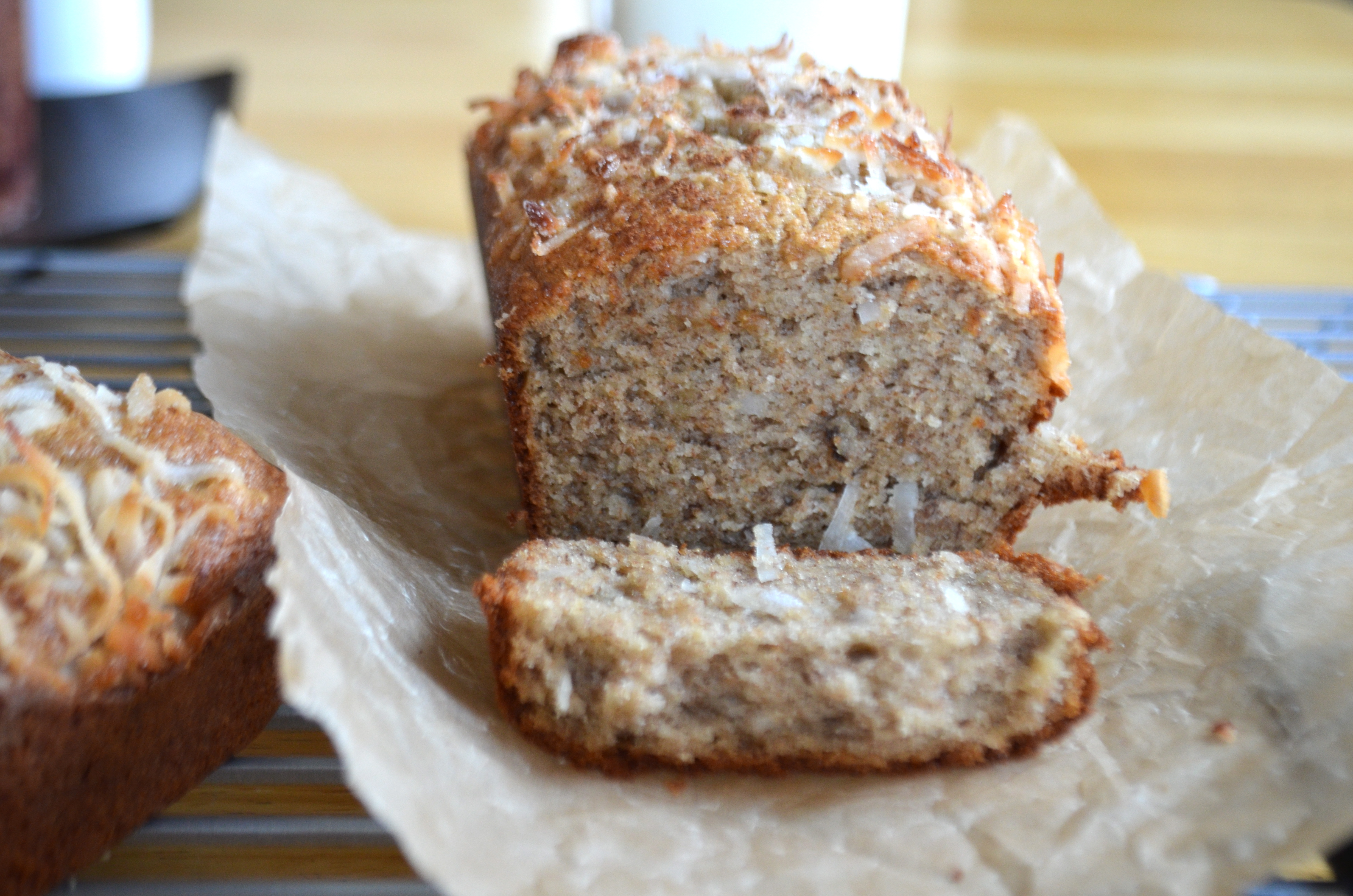 Coconut Banana Bread | Mikey\'s In My Kitchen