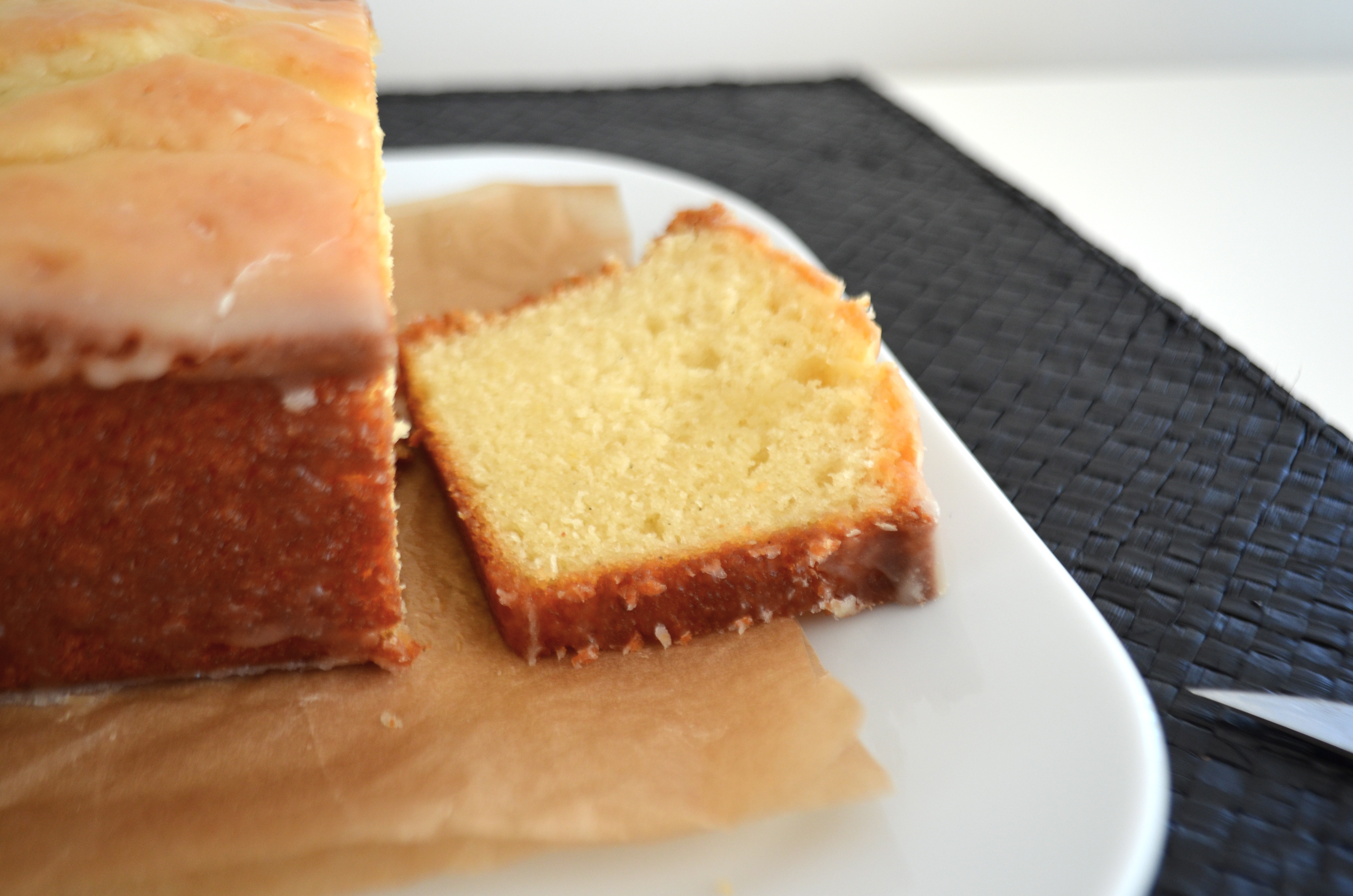 Vanilla Yogurt Bread with Orange Glaze | Mikey's In My Kitchen