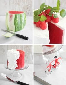Fresh Watermelon Cake SprinkleBakes 4