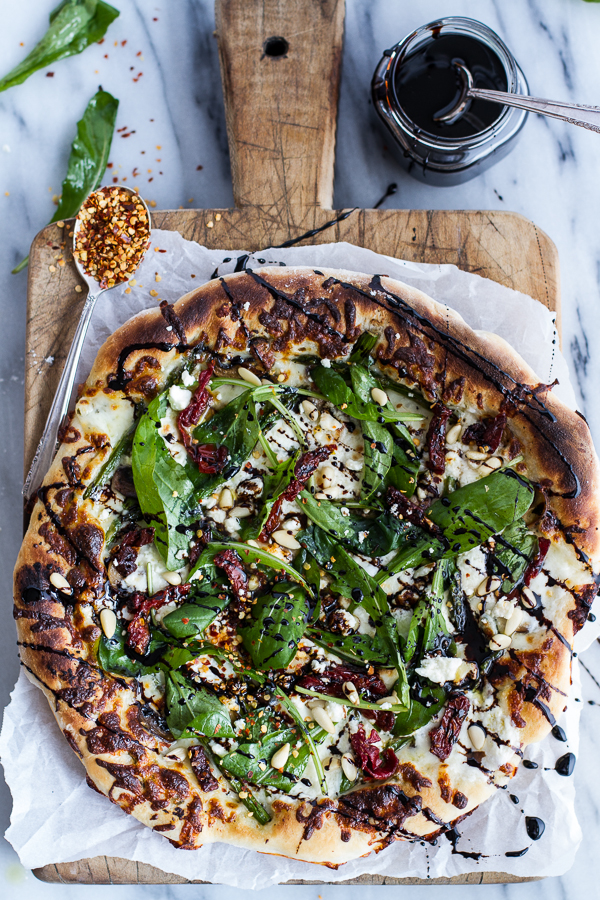 Spring-Time-Mushroom-+-Asparagus-White-Burrata-Cheese-Pizza-with-Balsamic-Drizzle-1